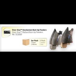 Over-Size Mallard Butt-Up Feeders