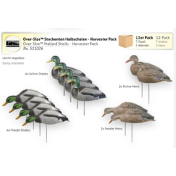 Over-Size Mallard Shells - Harvester Pack