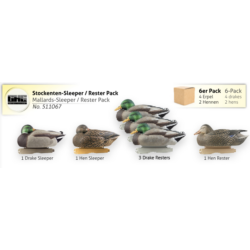 Mallards-Sleeper / Rester Pack
