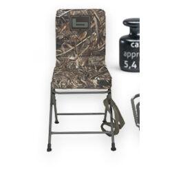 Forgatható terepszínű szék