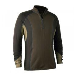 Deerhunter Greenock alsóruha zipzáras hosszú ujjú póló, L