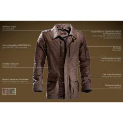 Outfox Outback kabát, dark olive, 50