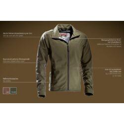 Outfox Outfoxshell kabát, forest (zöld)