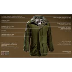 Outfox Performance kabát, teak, 60