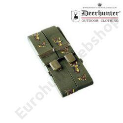 Deerhunter nadrágtartó őzbak motívumos