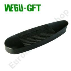 WEGU-GFT agytalp 130x43 mm fekete 10 mm