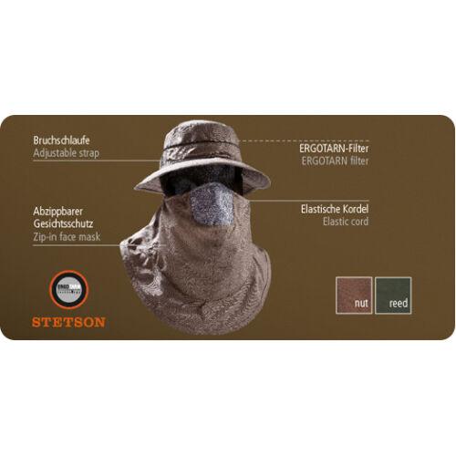 Outfox Protect kalap arcvédővel, nut, XL